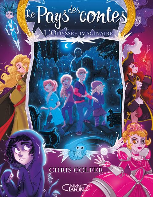 Couverture du tome 5 de la saga Le Pays des contes